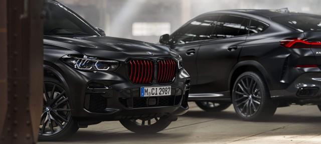 BMW X5 и BMW X6 ОГРАНИЧЕННОЙ СЕРИИ BLACK VERMILION EDITION.