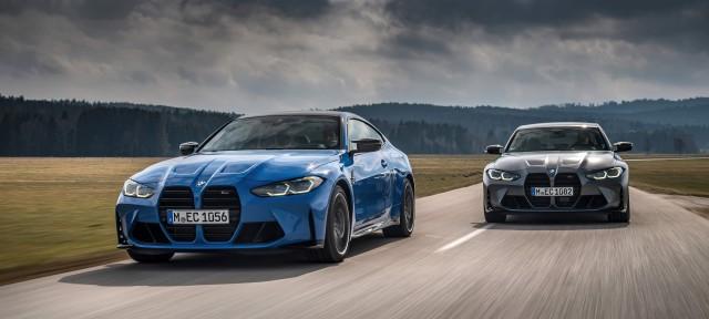 Высокая мощность в различных вариациях: новые BMW M3 Competition и BMW M4 Competition с полноприводной трансмиссией M xDrive.