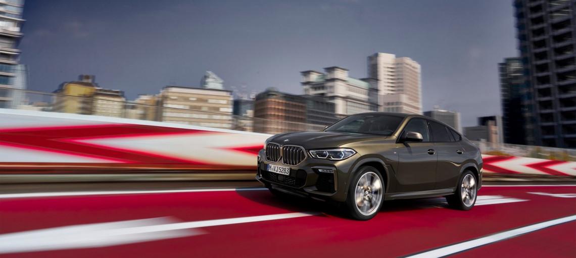 Новий BMW X6.