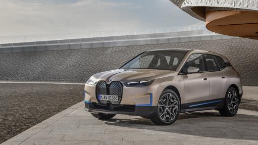 BMW Group представляє дизайн BMW iX - свого нового технологічного флагмана