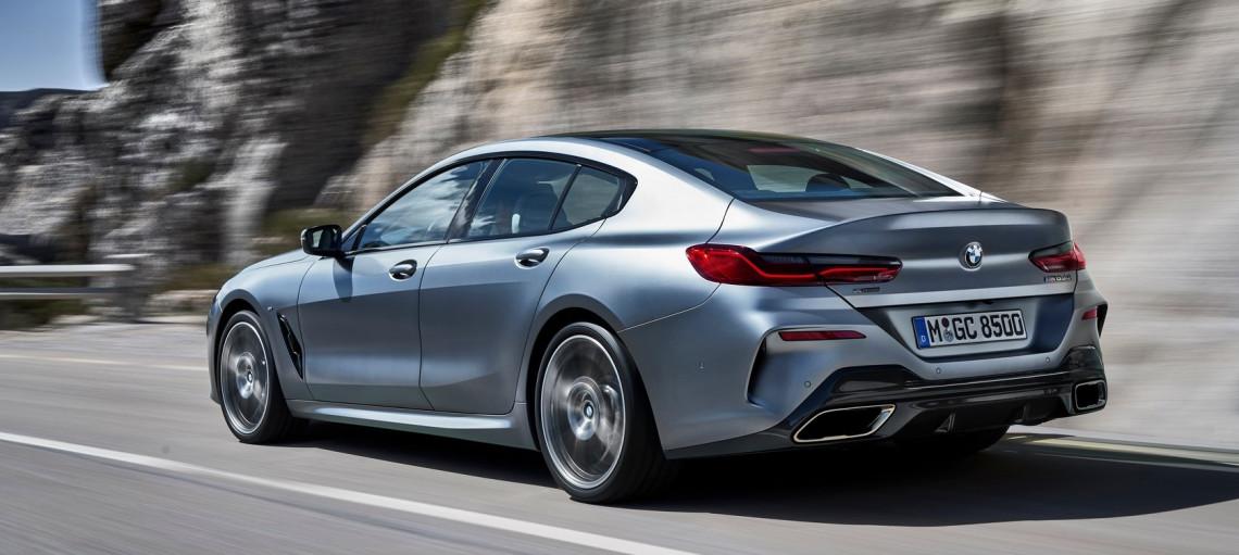 BMW 8 серии Gran Coupe.