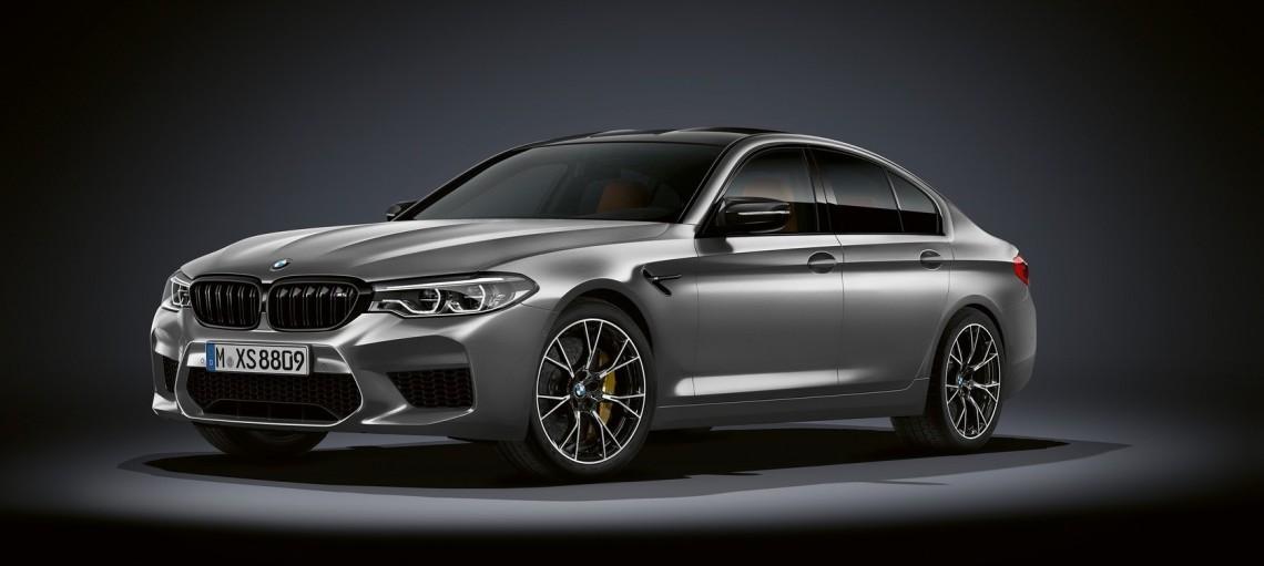Новый BMW M5 Competition.