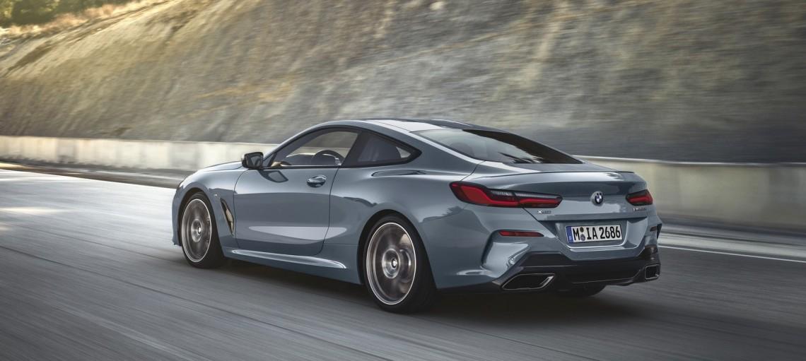 Новый BMW 8 серии Coupe