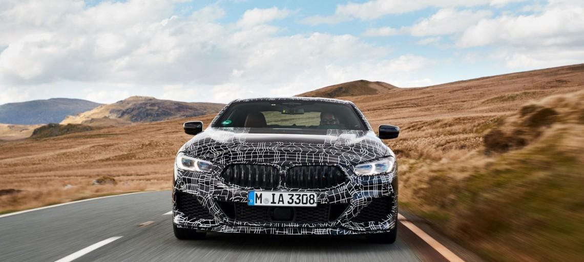 Новий BMW 8 серії Coupe. На максимальній швидкості до серійного виробництва.