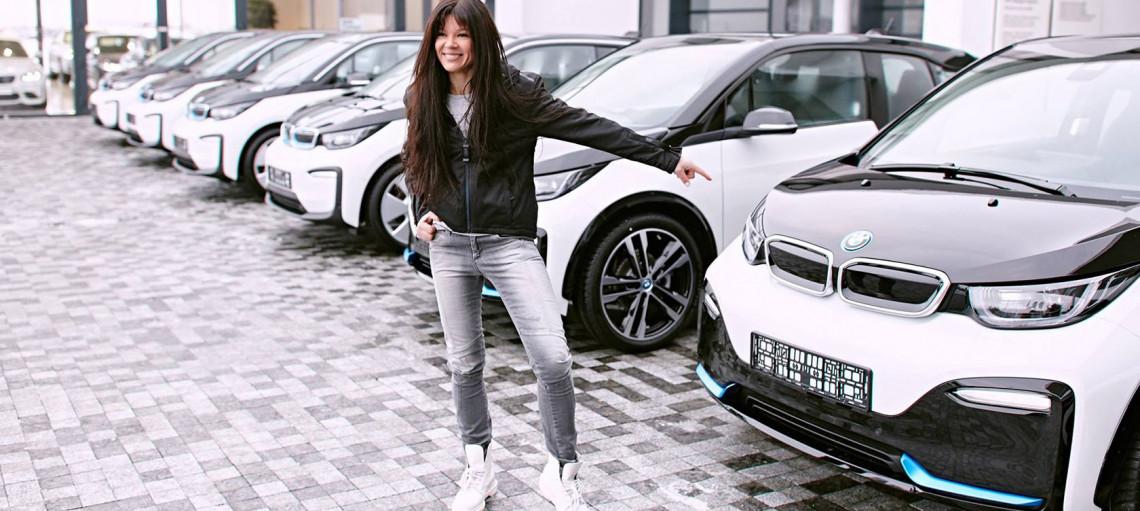 Энергия новых идей. BMW<span>i<span> официальный автомобиль офиса послa возобновляемой энергии