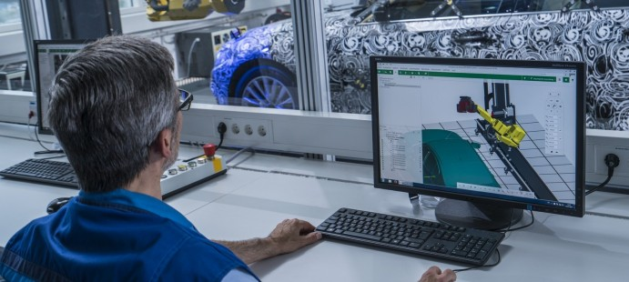 Виртуальный BMW 5 СЕРИИ: уникальная технология оптического измерения для создания 3D-модели автомобиля нового поколения.