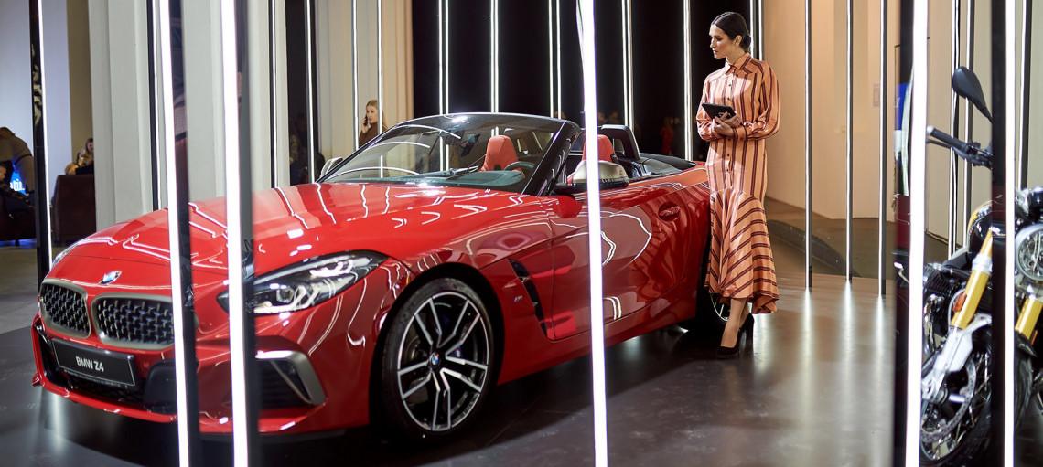 Чистая эстетика новых форм. Образ для прирожденного индивидуала от бренда BMW в новом сезоне UFW